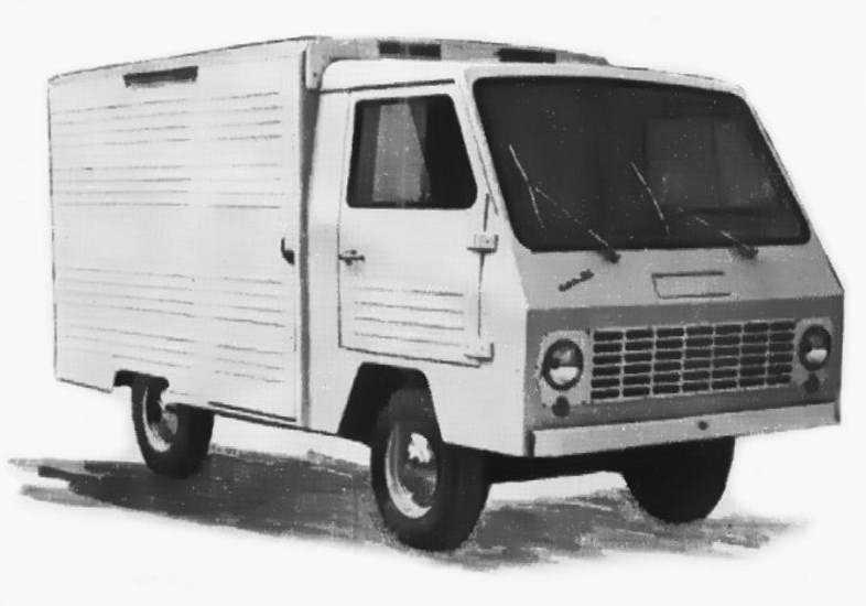 1968 год, ЕрАЗ-773. На самом деле замену 762-му начали искать ещё в конце 60-х. Одним из ходовых макетов был 773-й